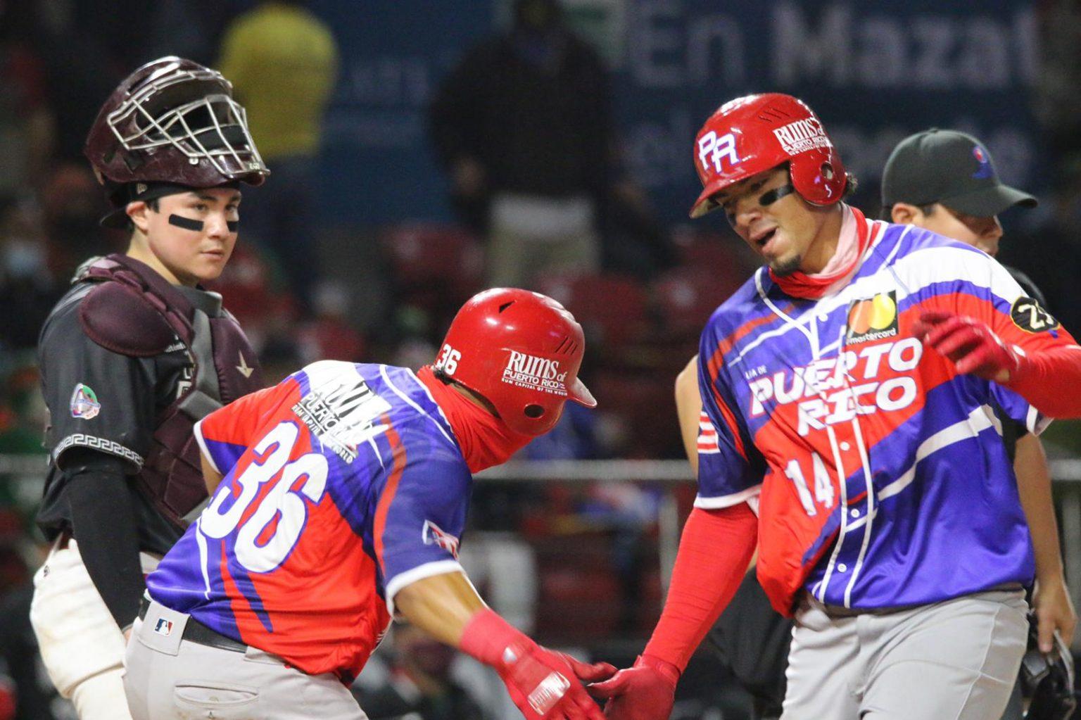 Edwin Díaz pegó cuadrangular de dos carreras en la victoria de Puerto Rico (Foto: LBPRC Media)