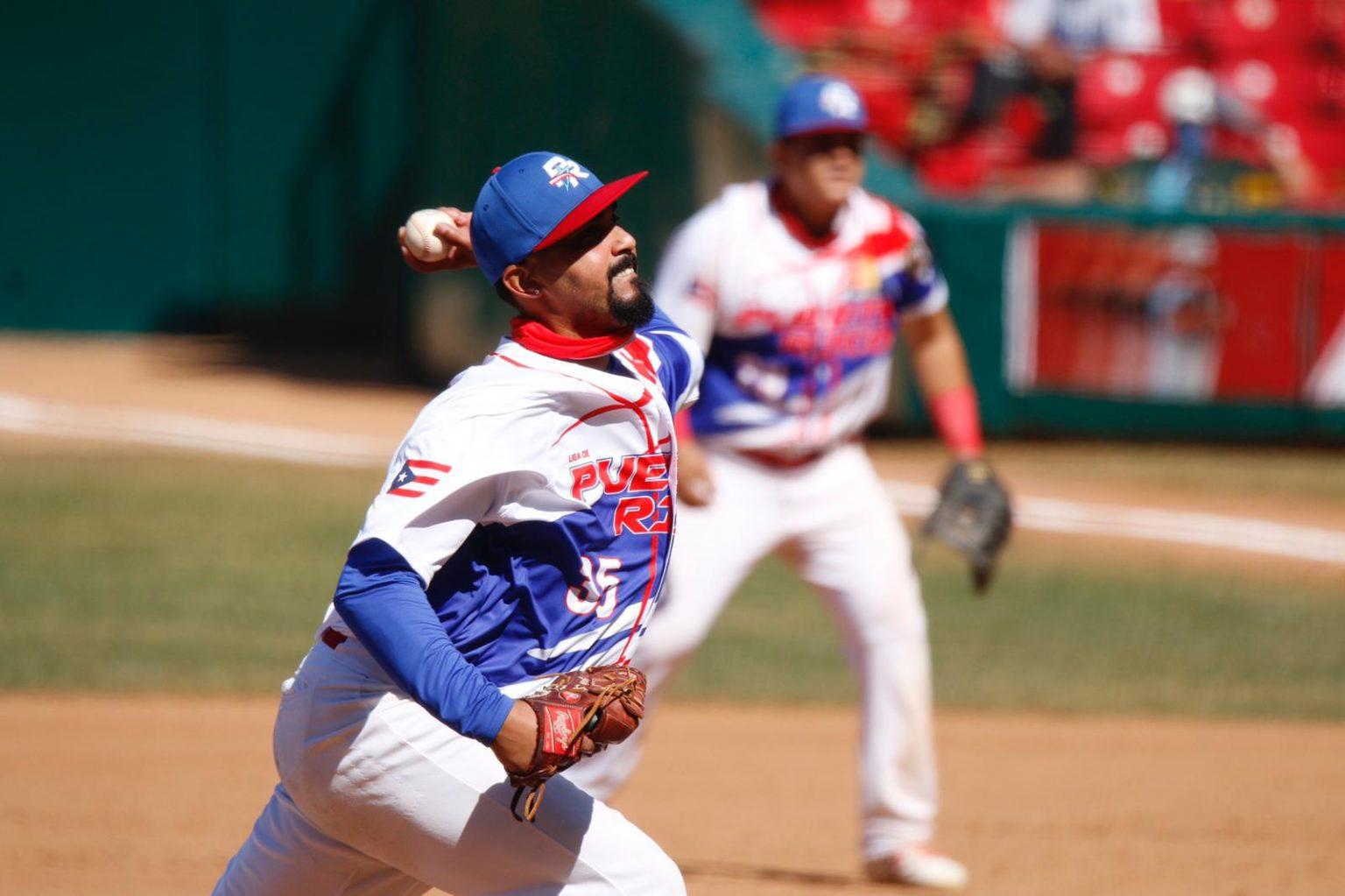 Giovanni Soto trabajó por espacio de dos entradas logrando el triunfo para Puerto Rico. (Foto: LBPRC Media)